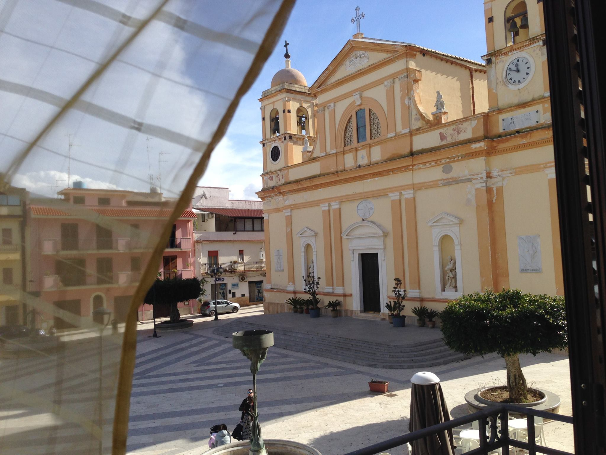 Appartamento nella piazza principale del paese